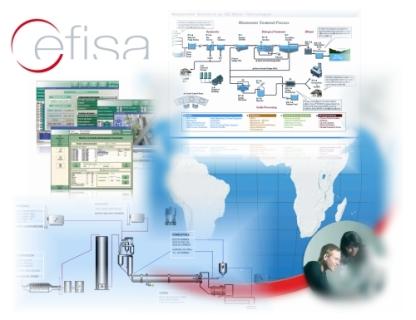 Cefisa tiene desarrollados múltiples drivers para conectarse con los más variados equipos de aire acondicionado, sistemas de alimentación ininterrumpida y cuadros de fuerza para telefonía.